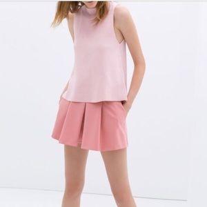 ZARA - front pleated skort Shorts